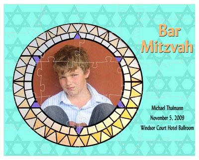 Bat & Bar Mitzvah Mosaic Puzzles