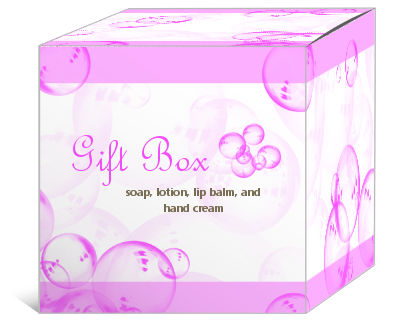 Bubbles Bath and Body Boxes