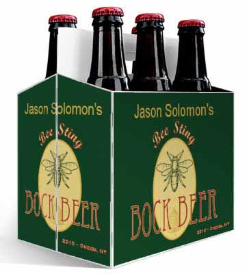 Bee 6 Pack Beer Carrier