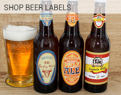 Custom Beer Labels, Beer 6 pack carriers with photo and ...