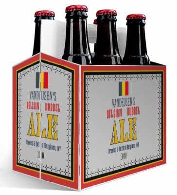 Belgian 6 Pack Beer Carrier