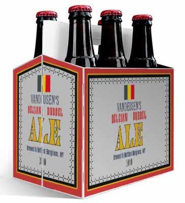 Belgian 6 Pack Beer Carrier