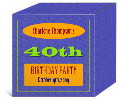 Party Time Birthday Boxes