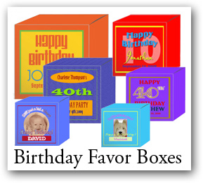 Birthday Boxes