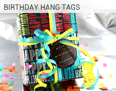Birthday Hang Tags
