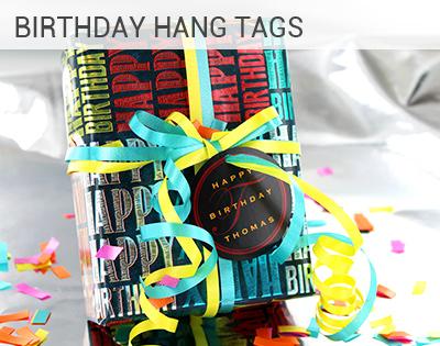Birthday Hang Tags