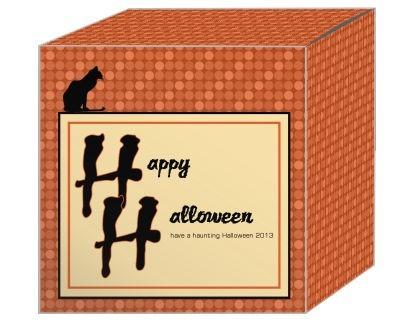 Black Cat Halloween Boxes