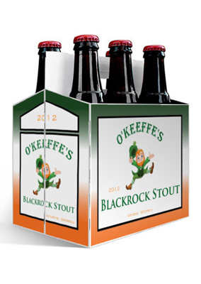 Blackrock Stout Saint Patrick's Day Six Pack Carriers
