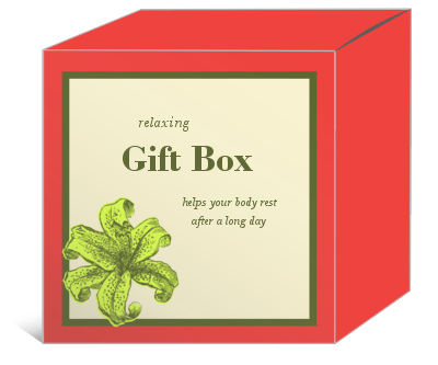 Energize Bath and Body Boxes