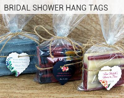 Bridal Shower Hangtags