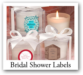 Bridal Shower Favors Tags, Engagement favors labels, wedding favors, custom puzzles