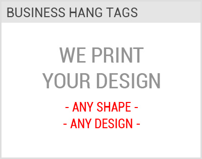 Business Hang Tags