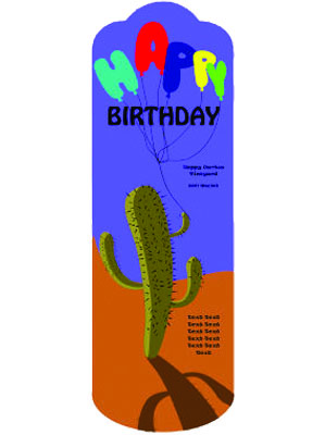 Cactus Wine Labels