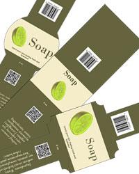 Calm Soap Labels