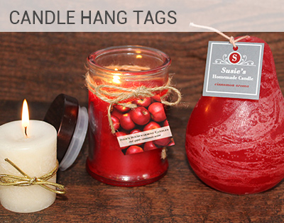Candle Hang Tag