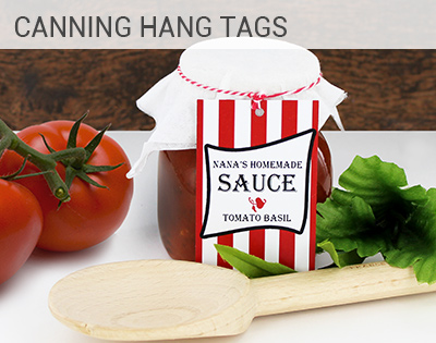 Canning Favor Tag