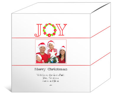 Joy Christmas Gift Boxes