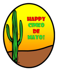 Cinco de Mayo Lables
