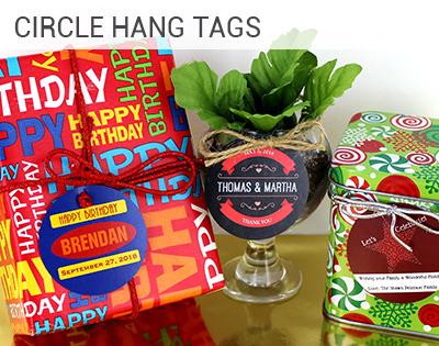 Circle Hang Tag
