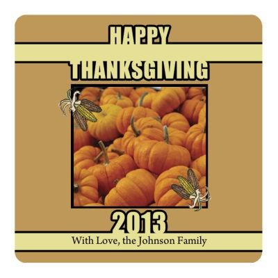 Corn Thanksgiving Coasters