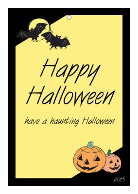 Corner Clipart Halloween Hang Tags