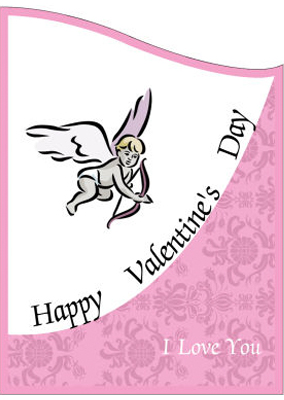 Corners Edge Valentine Labels
