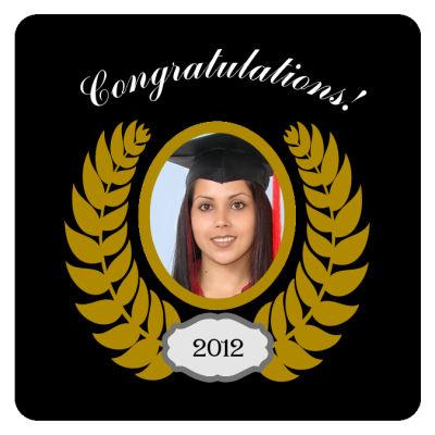 Crest Graduation Coasters