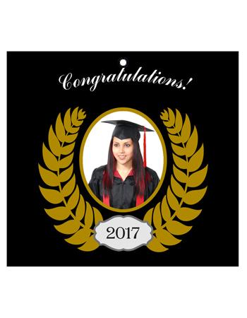 Crest Graduation Hang Tag