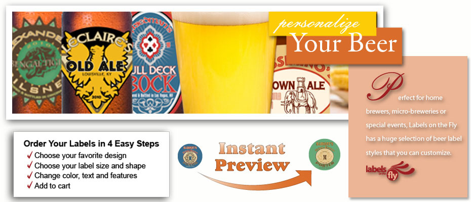 Homebrewing supply, Brewing Supplies, beer labels, beer coaters