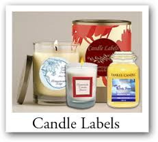 custom candle labels, candle stickers