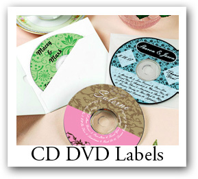 Christmas CD stickers and Christmas Labels