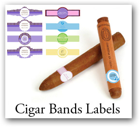birthday cigar band customizable with text and color