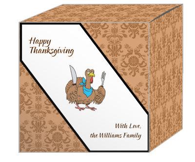 Diagonal Banner Thanksgiving Boxes
