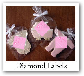 diamond labels, Rhombus labels