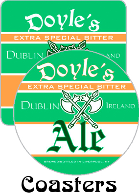 Dublin Lager Coasters