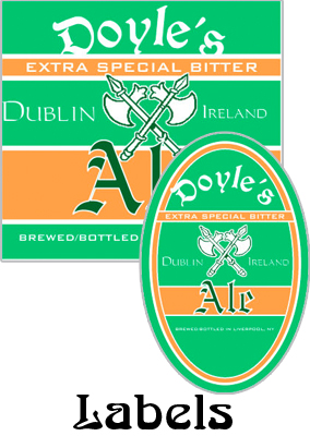 Dublin Lager Labels