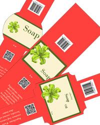 Energize Soap Labels