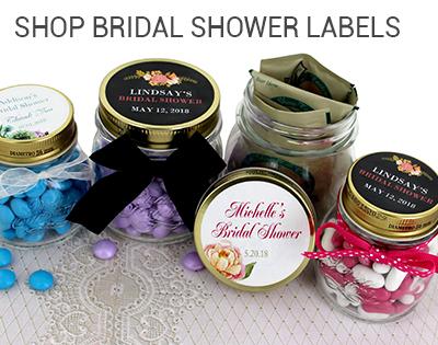 Bridal Shower Labels