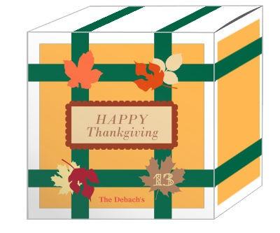 Fall Foliage Holiday Boxes