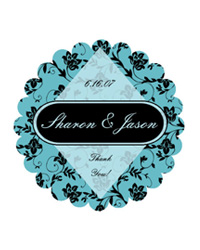 Floral Wedding Labels