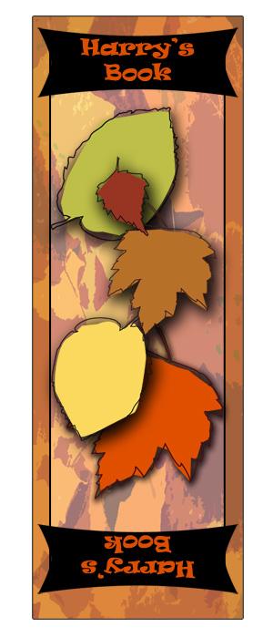 Foliage bookmark