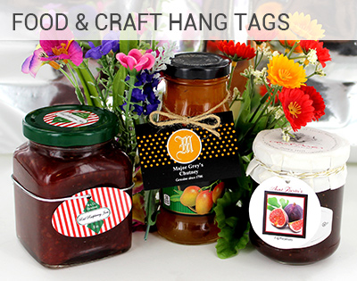 Food & Craft Hang Tags