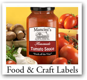 Food and Craft Labels