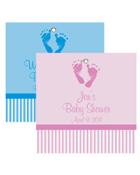 Footprints Baby Hang Tag