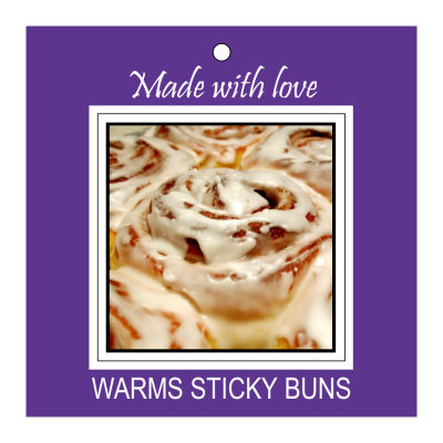 Fresh Baked Food and Craft Hang Tags with Photo