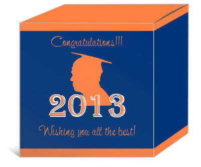 School Spirit Graduation Boxes
