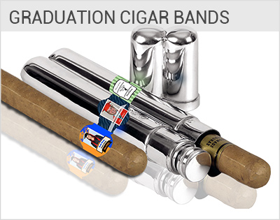 Customized graduation Labels, personalized graduation cigar bands
