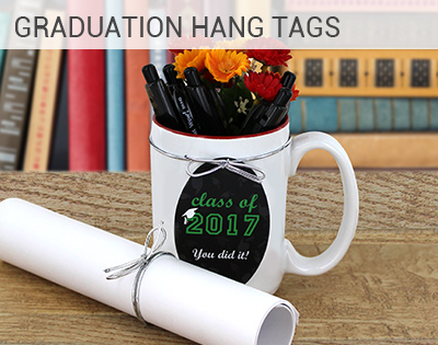 Graduation Hang Tag