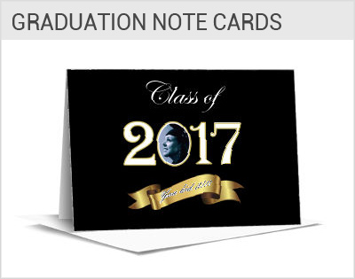 graduation invitation with photo
