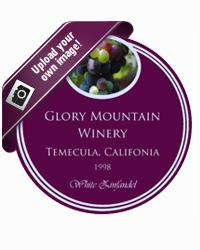 Grapes Wine Coaster